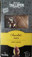 Chocolat noir coeur poire - Product