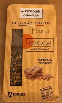 Chocolat Lait coeur speculos - Product