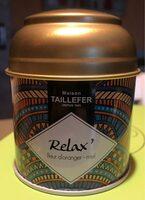 Thé relax Fleur ďoranger-miel - Product - fr