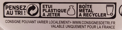 Thé relax Fleur ďoranger-miel - Recycling instructions and/or packaging information - fr