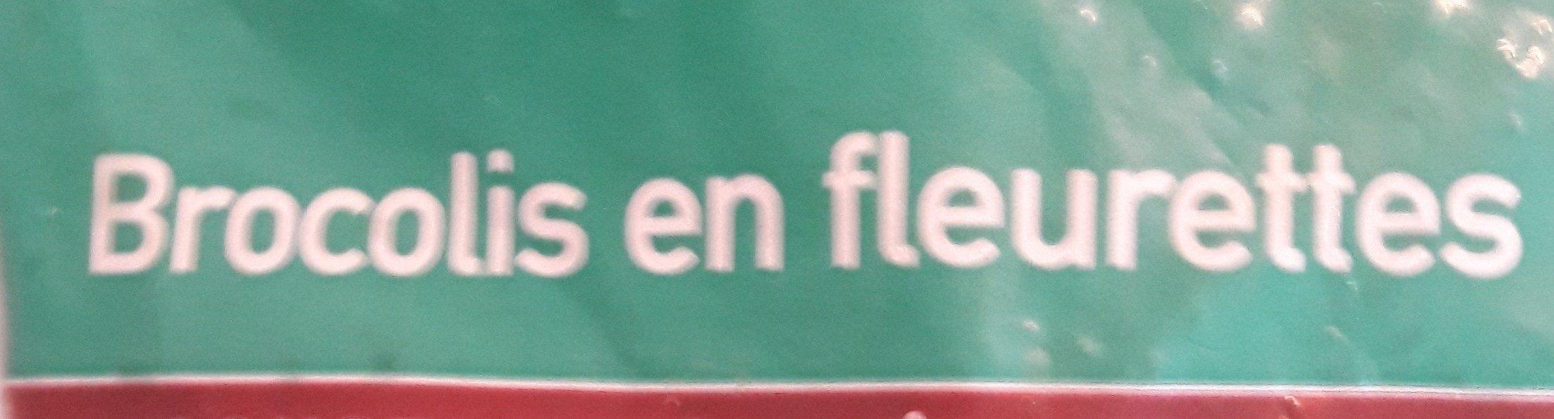 Brocolis en Fleurette - Ingrédients - fr