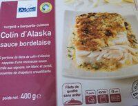 Colin d'Alaska sauce bordelaise - Product - fr