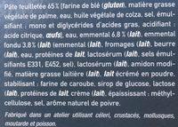 10 Friands au Fromage - Ingrédients