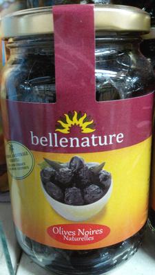 Olives noires naturelles - Produit - fr