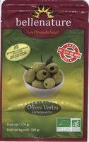 Olives Vertes Dénoyautées - Product