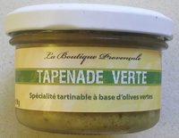 Tapenade verte - Produit - fr