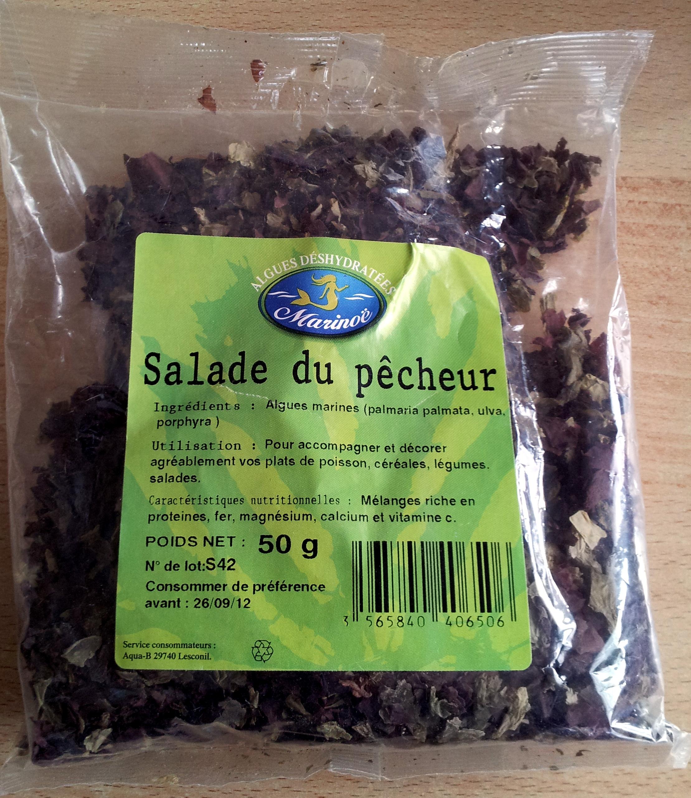 Algues déshydratées - Salade du pêcheur - Produit - fr