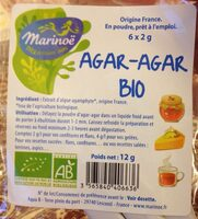 Agar Agar - Ingrediënten