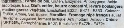 Tarte au Maroilles - Ingrédients