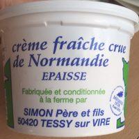 Crème fraîche crue de Normandie Epaisse - Product