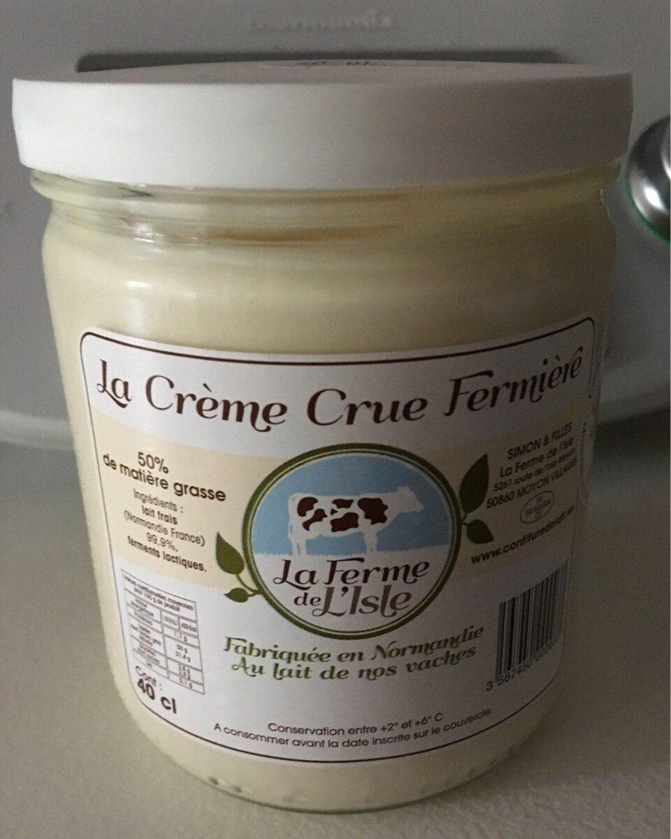 La crème crue Fermiére - Product - fr