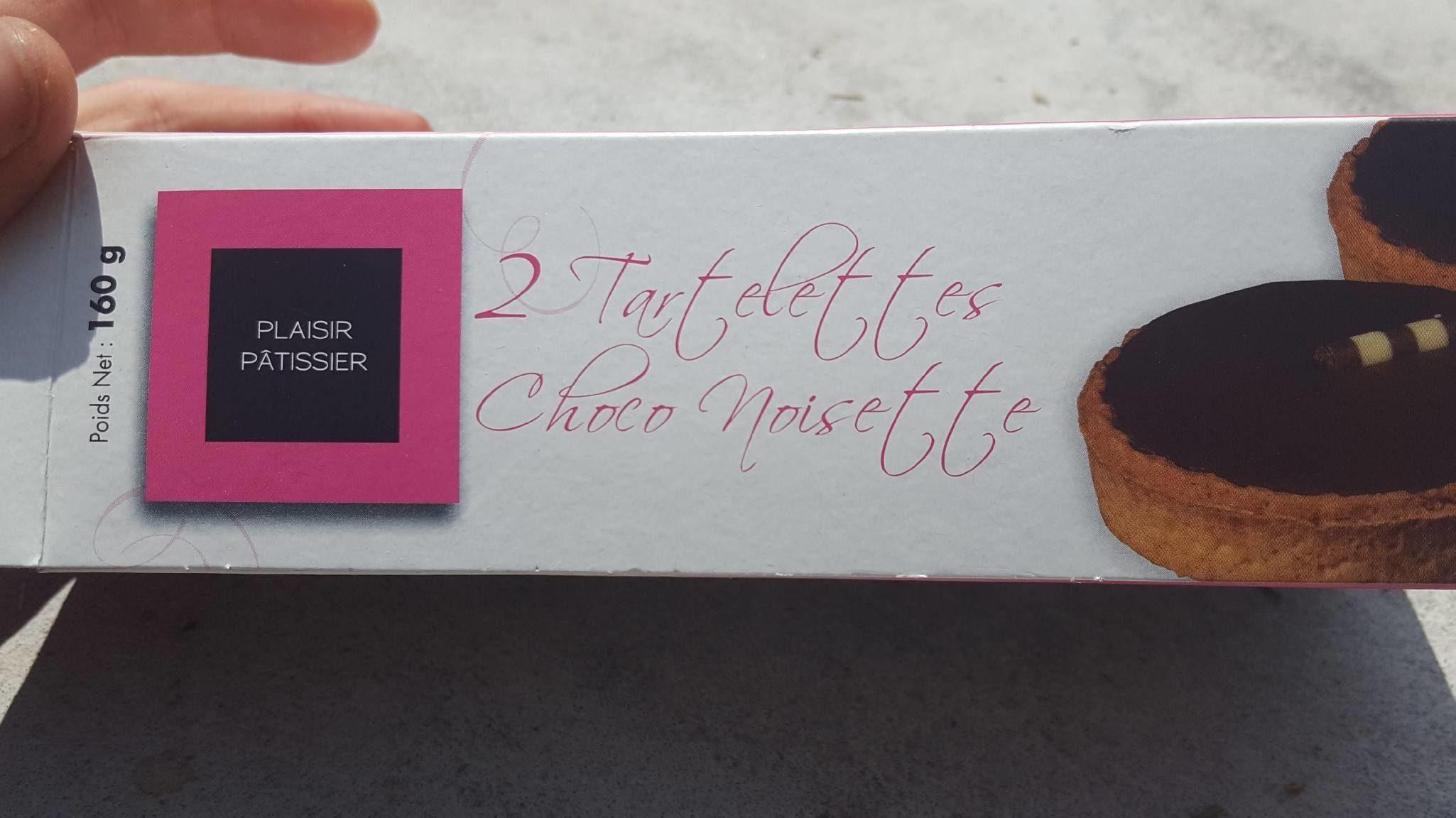 Tartelettes choco noisette - Produit - fr