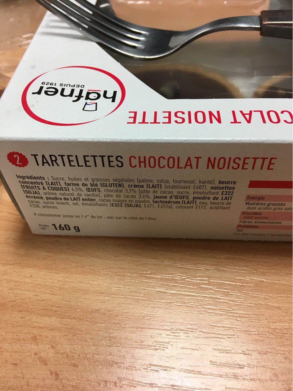 Tartelette chocolat noisette - Product - fr