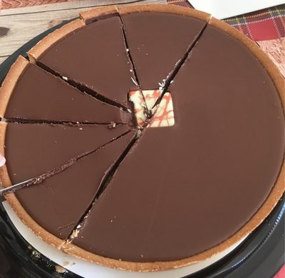 Tarte Chocolat Noisette - Produit - fr