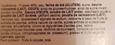 Tarte aux fraises - Ingredients