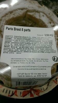 Paris brest 8 parts - Produit - fr