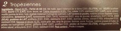 Tropéziennes - Ingredients