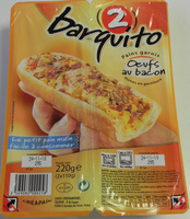 Barquito Oeufs au bacon - Produit