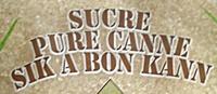 Sucre pure canne - Sik a bon kann - Ingrédients