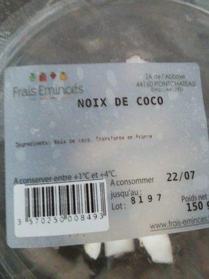 Noix de coco - Ingrédients - fr