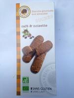 Biscuits Gourmets aux Amandes, Café & Noisette - Product