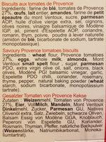 Croquets de provence - Ingrédients