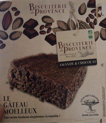 Gâteau gourmet aux amandes et chocolat - Produit - fr