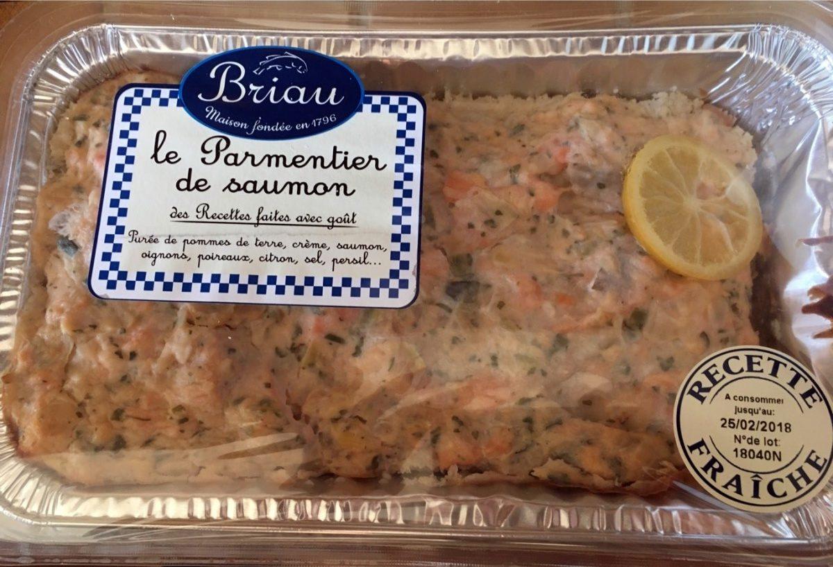 Le Parmentier de saumon - Product - fr