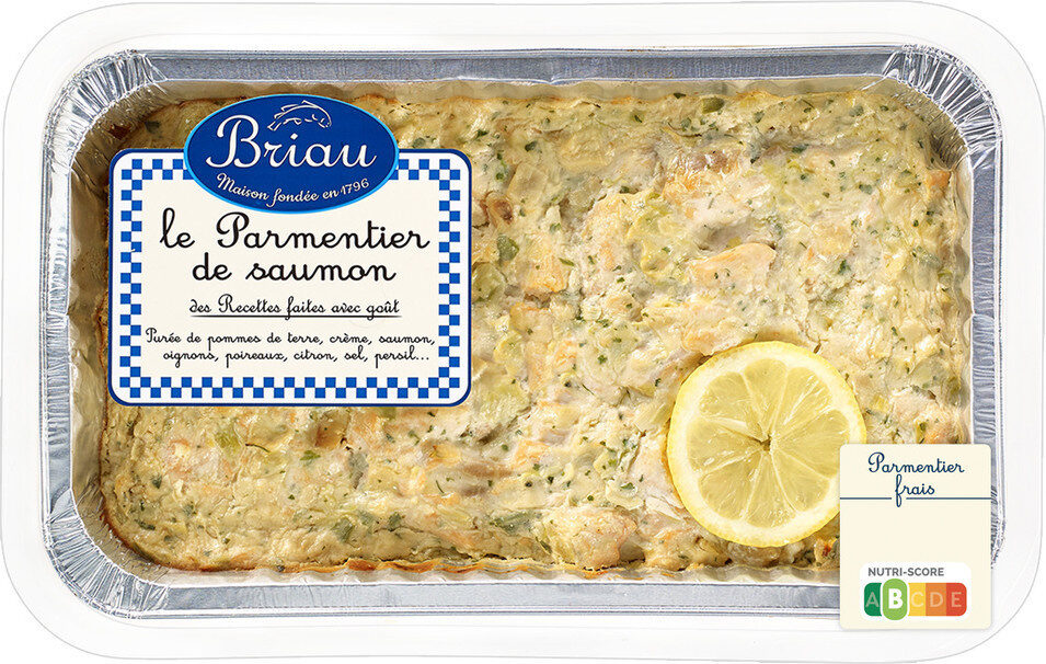 Parmentier de saumon - Prodotto - fr