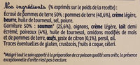 Le Parmentier de saumon - Ingrediënten - fr
