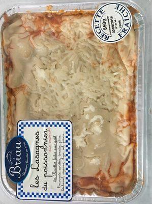 Les lasagnes du poissonniers - Produit