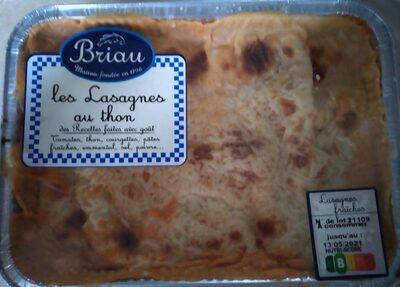 Lasagnes au thon - Produit - fr
