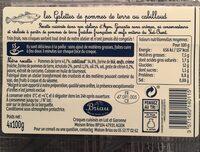 Croques cabillaud - Voedingswaarden - fr