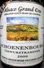 Schoenenbourg Gewurztraminer 2009 AOC Bio - Produit