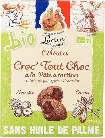 Céréales Croc' Tout Choc à la pâte à tartiner Bio - Product - fr