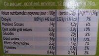 Céréales Croc' Tout Choc à la pâte à tartiner Bio - Nutrition facts - fr