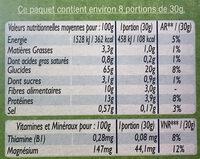 Pétales d'Epeautre - Nutrition facts - fr