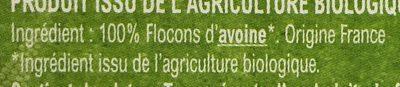 Flocons d'avoine Bio - Ingredients - fr