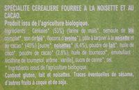 Croc choc - Ingredients - fr