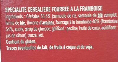 Croc'framboise - Ingredients - fr