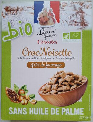 Croc noisette - Produit