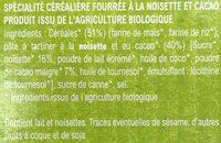 Croc noisette - Ingrédients - fr