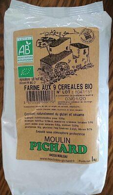 Farine aux 9 céréales bio - Product