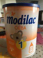 Lait 1er âge oeba MODILAC confort - Product - fr