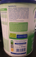 Lait bébé en poudre bio 10 à 36 mois - Produit - fr