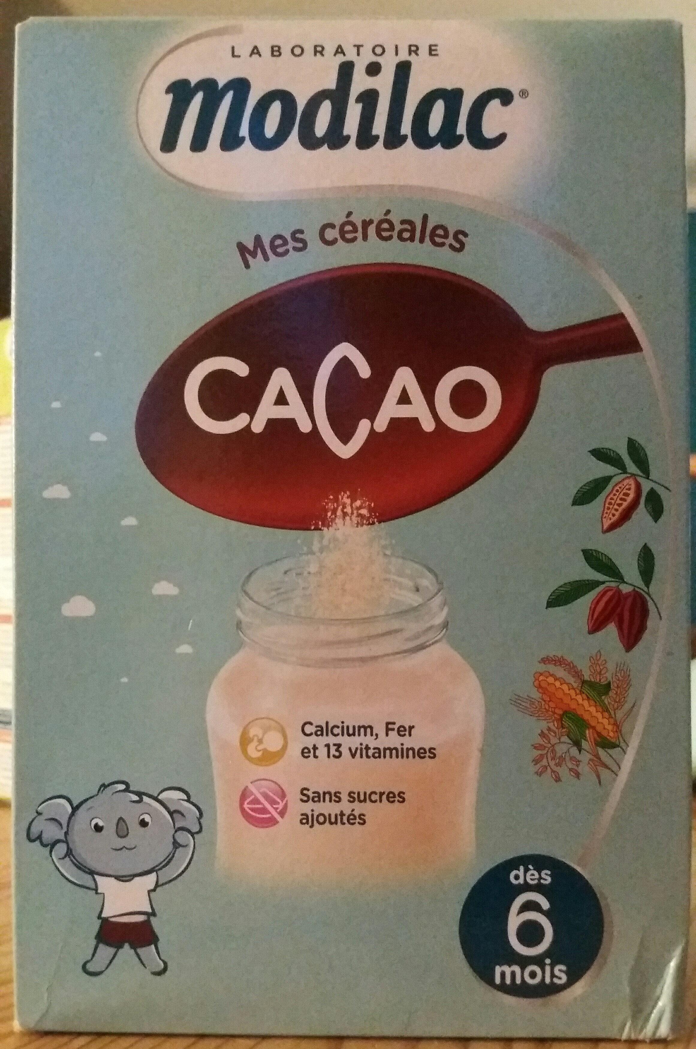 Mes céréales - Cacao de 6 mois à 3 ans - Product - fr