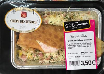 Crêpe de ch'Nord cuisinée - Produit - fr
