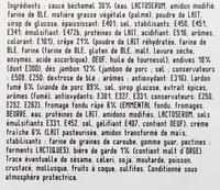 Crêpe de ch'Nord cuisinée - Ingrédients - fr