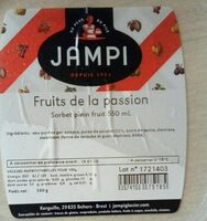 Glace Passion Jampi 550ML - Product - fr