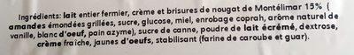 Nougat de Montélimar - Ingredients - fr